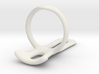 Trigger ring splint US ring size 12 3d printed