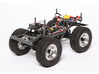 Wild Willy chassis for losi mrc/Vatera slick rock 3d printed A great example of how the chassis could be used, build by Cyril Mund(view under the body)