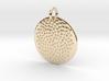 Seed Pattern Pendant 3d printed