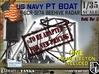 1-35 PT Boat Beehive Radar Frame 3d printed