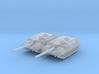 1/285 Swiss Taifun (Typhoon) II Tank Destroyer x2 3d printed 1/285 Swiss Taifun (Typhoon) II Tank Destroyer x2