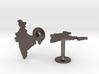 India Cufflinks 3d printed