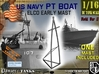 1-16 Elco PT Boat Early Mast 3d printed
