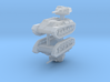 1/285 T-80 light tank (x2) 3d printed