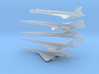 1/600 BOEING/NASA 2707/HCST SUPERSONIC TRANSPORTS  3d printed
