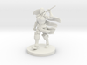 Human Female Barbarian 3d printed