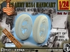 1-24 Wheels For M3A4 Handcart 3d printed