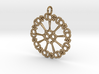 Axoneme Pendant - Science Jewelry 3d printed
