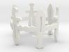 Sword Dance Ring 3d printed