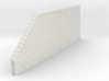 Mur soutainement tunnel droit 3d printed