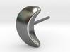 Moon Earring 3d printed