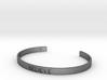 Believe Engrave Bracelet Sizes S-L 3d printed