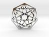 "7D Hypercube Pendant 1.5"" 3d printed"