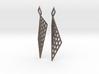 Mesh Earring Set 3d printed