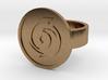 Cyclone Ring 3d printed