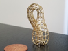 Klein Bottle Wireframe Mini 3d printed