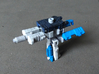 """MicroSlinger """"Uproar"""" 3d printed Uproar weapon mode, combined with Squall to a form a gun turret."""