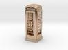 K6 Telephone Box (10cm) 3d printed