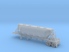 N scale 1/160 J&L/Heil 1636 Dry Bulk Trailer 18 3d printed