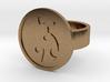 Ladybug Ring 3d printed
