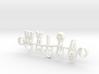 Walaa Necklace Jewelry 3d printed