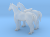 S Scale Horses 3d printed This is a render not a picture