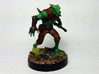 Dragonborn Scout 3d printed Painted with acrylic paints. Mounted on a 1 inch base.