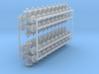 1:48 scale - 6in pipe tees - Ver3 - 40ea 3d printed