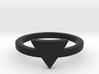 Small Triangle Midi Ring 3d printed