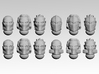 Pariah Masks x12 3d printed Product is sold unpainted.