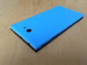 The Other Side for Jolla phone 3d printed Attached to phone (not included) after spraypainting blue (not included!)