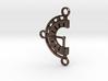 Chrono Clock Pendant or Keychain 3d printed