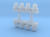 HO Scale RC Lights (Lighted) 3d printed