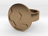 Soccer Ball Ring 3d printed