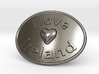 I Love Ireland Belt Buckle 3d printed