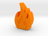 Fire Game Piece A 3d printed