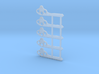 """HO Scale GRS Style A Pointed Semaphore 42"""" 3d printed"""