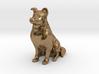 Dog Rough Collie Pet 8cm 3d printed