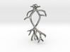 Reindeer Antler Earrings 03 3d printed