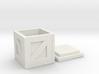 D&D Wood Crate 3d printed