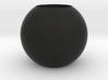 Acoustic Sphere (20mm mic) (40mm diameter) 3d printed 40mm Acoustic Pressure Equalizer