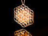 Knotted Flower Of Life Pendant 3d printed