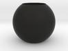 Acoustic Sphere (21mm mic) (40mm diameter) 3d printed 40mm Acoustic Pressure EQ for 21mm mics