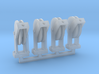 Hose Reel 4pack 1-64 Scale 3d printed