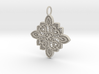 Lace Ornament Pendant Charm 3d printed