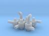 Industrieventilator Set1 - 6Teile 1:120 3d printed