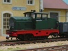 Locotracteur Doubs 102 HOm/HOe 1:87 3d printed finished model with added details finished model
