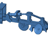 1/87th Fesco type Fire Plow for bulldozers 3d printed