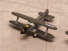 Beech UC-43 Traveler (with landing gear) 1/285 6mm 3d printed Beech Staggerwing in US Navy tricolor scheme GB-1
