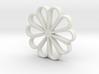 Beautiful flower 3d printed